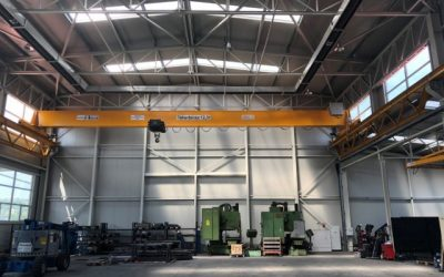 FerroPatent BEH 12,5t / 19,64m híddaru, daru gyártás, daru telepítés